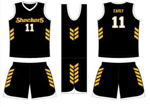 Basketball Jersey Design poster