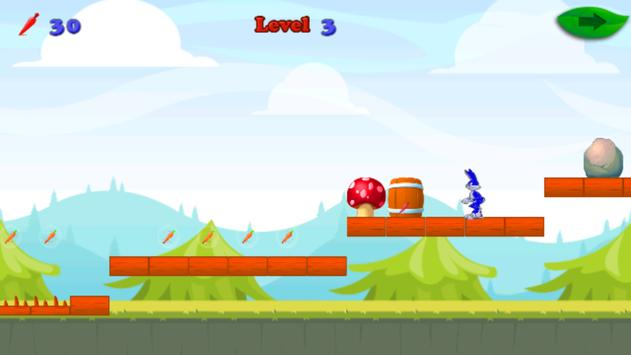 hopping bird run screenshot 2