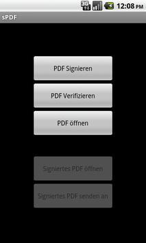 sPDF poster