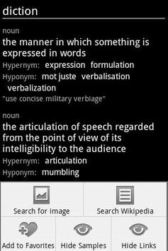 LL English Dictionary-WithAds apk screenshot
