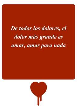 Heartbreak Quotes - Spanish screenshot 5