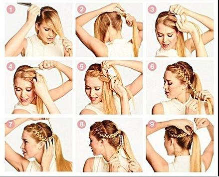 Braid Hairstyles Tutorial screenshot 4