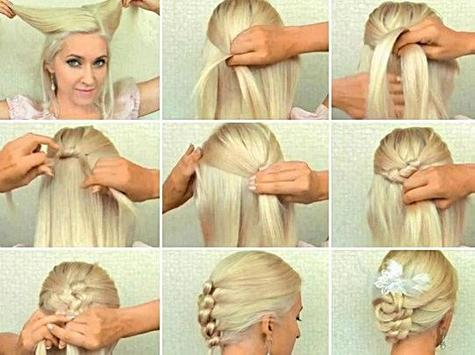 Braid Hairstyles Tutorial screenshot 1