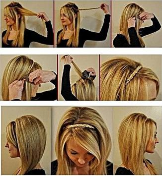 Braid Hairstyles Tutorial screenshot 2