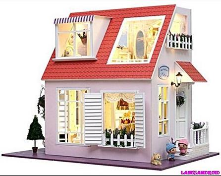 Doll House Decorating Designs poster