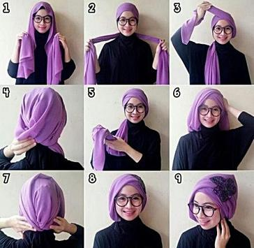 Trendy Hijab Tutorial apk screenshot
