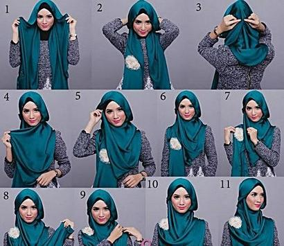 Trendy Hijab Tutorial poster