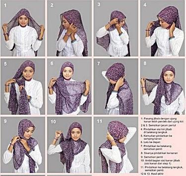 Trendy Hijab Tutorial screenshot 2