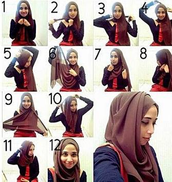 Trendy Hijab Tutorial screenshot 5