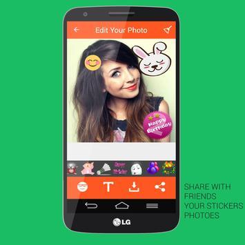 Emoji Photo Stickers - Editor screenshot 6