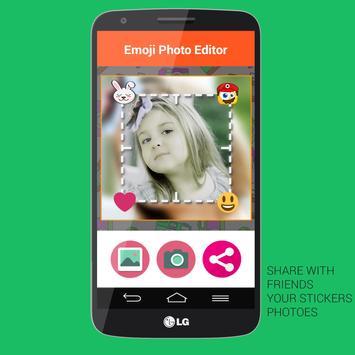 Emoji Photo Stickers - Editor screenshot 1