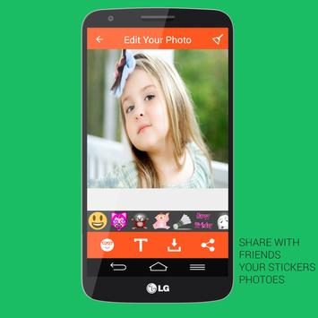 Emoji Photo Stickers - Editor apk screenshot