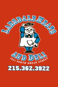 Lansdale Meats poster