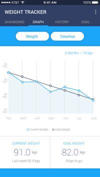 Weight Tracker screenshot 1