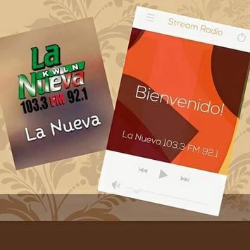 La Nueva 103.3 FM 92.1 KWLN screenshot 4