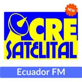 radio cre satelital ecuador guayaquil 105.7 fm icon