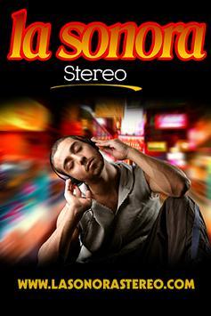 La Sonora Stereo poster