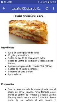 Lasagna screenshot 2
