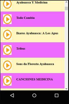 Ayahuasca Music & Songs screenshot 1