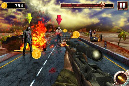 The Zombie Chase: Fire Games screenshot 4