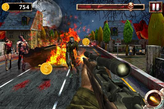 The Zombie Chase: Fire Games screenshot 1