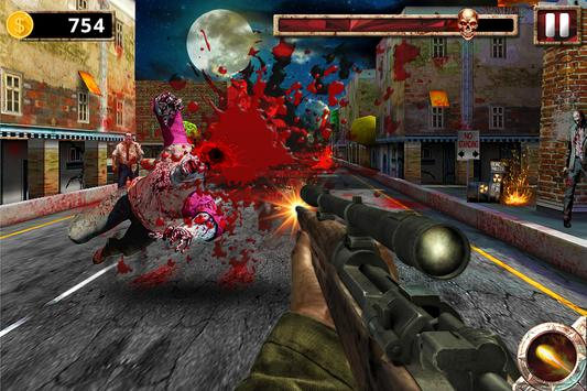 The Zombie Chase: Fire Games screenshot 3