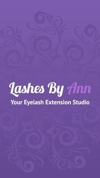 Lashes By Ann poster