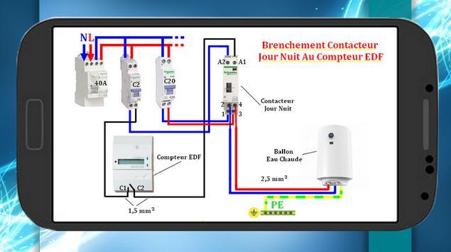 schema electrique apk screenshot - Realiser Schema Electrique Maison