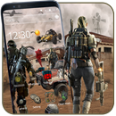 Cool Battle Survival-thema-APK