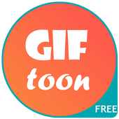 GifToon: Create animated Gif pictures & messages icon