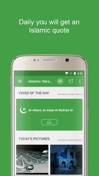 Motivational Quran verses & insping Islamic Quotes poster