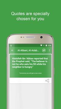 Motivational Quran verses & insping Islamic Quotes apk screenshot