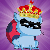 Cat bug the brave warrior icon