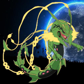 Rayquaza in witchery island icon