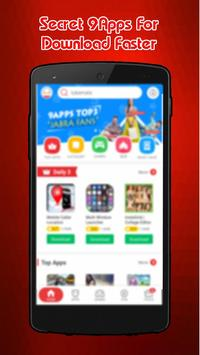 Latest 9Apps 2017 News Secret screenshot 2