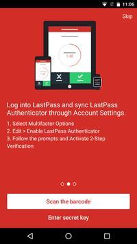 LastPass Authenticator apk screenshot