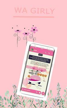 wa pink girly terbaru screenshot 2