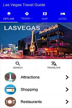Las Vegas Travel Guide poster