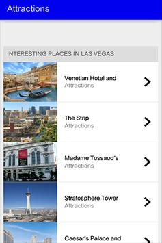 Las Vegas Travel Guide screenshot 1
