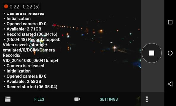La Camcorder apk screenshot
