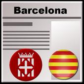 Barcelona press icon