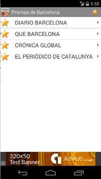 Barcelona press screenshot 1