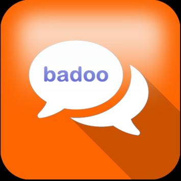 Messenger chat and badoo talk poster