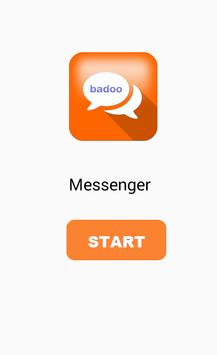 Messenger chat and badoo talk apk screenshot