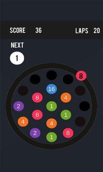 Laps & Merge - A Merging Puzzle Game apk screenshot