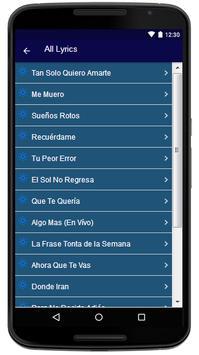 La Quinta Estacion - Song and Lyrics screenshot 3