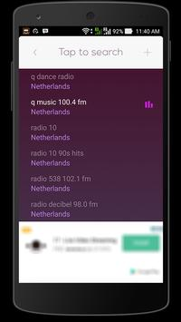 Radio Netherlands HQ apk screenshot