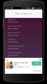 Radio South Africa HQ apk screenshot