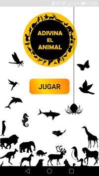 Adivina el animal poster