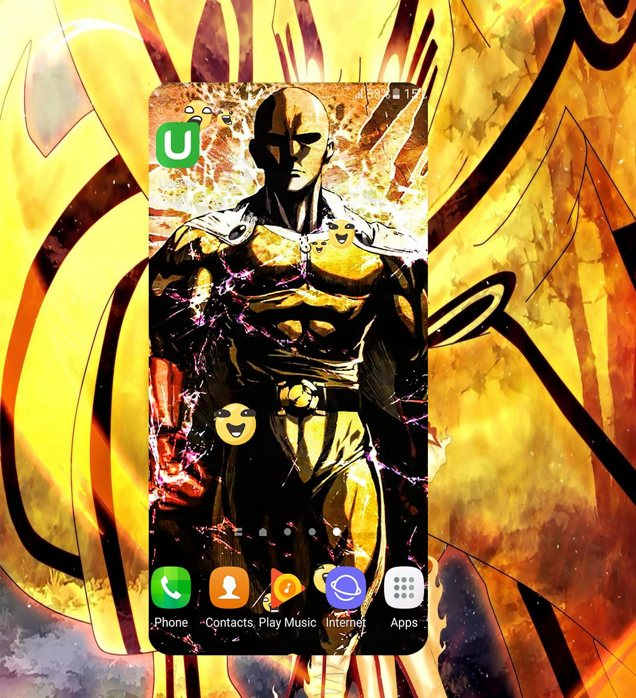 HD Wallpaper For E Punch Man Para Android APK Baixar